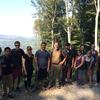 Hike with Alumni on Kahlenberg Group picture