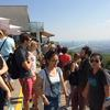 Hike with alumni IIon the Kahlenberg View over Vienna September 2017