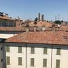 Views from the student residence is incredible, overlooking the city of Pavia.